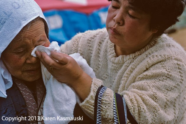 Showing kindness during the 1995 Kobe Earthquake