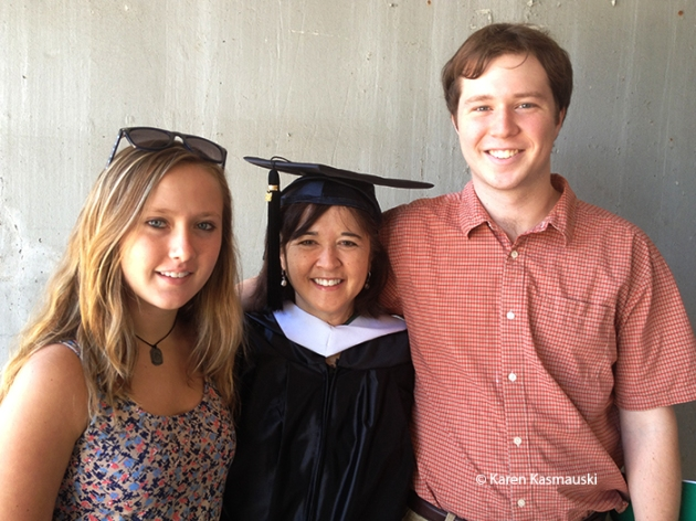 Katie, me, and Will at my Ohio University graduation in 2012.